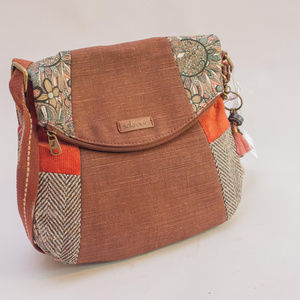 Sakroots Artist Circle Fold Over Crossbody